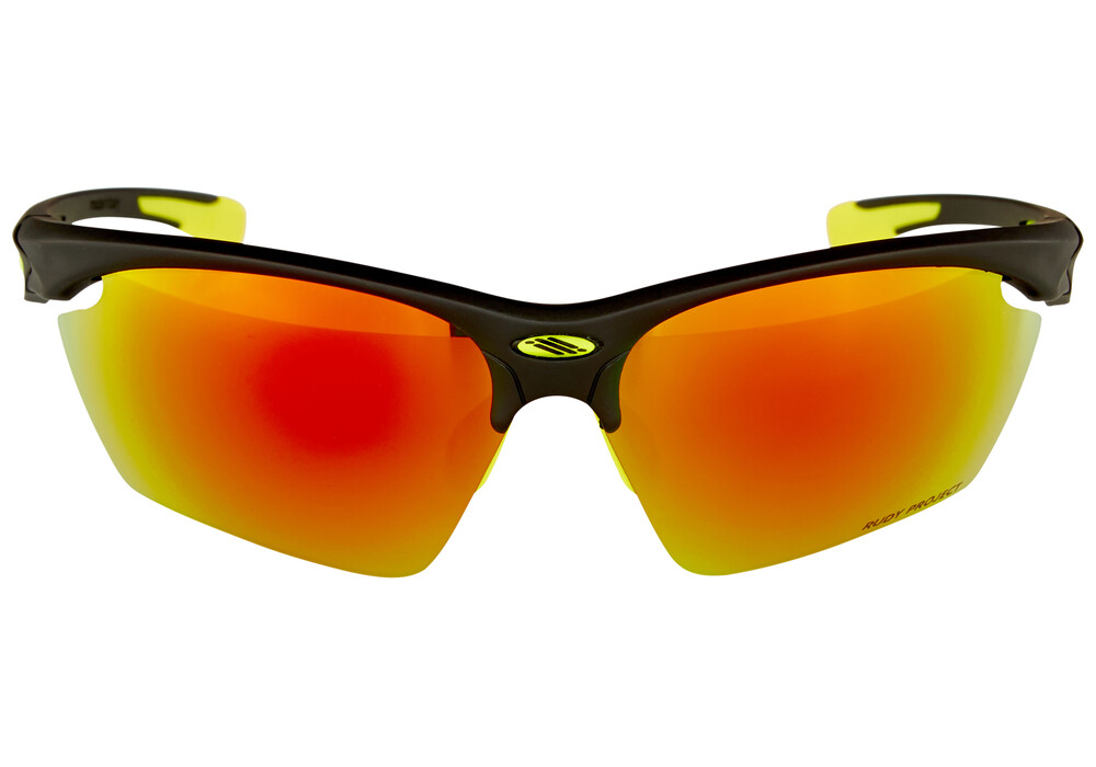 rudy project sunglasses qkag  Rudy Project Stratofly Glasses Matte Black/Multilaser Orange